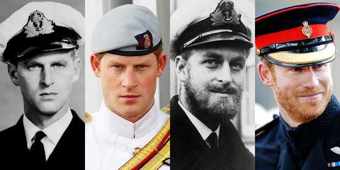 prince harry and prince philip look alike