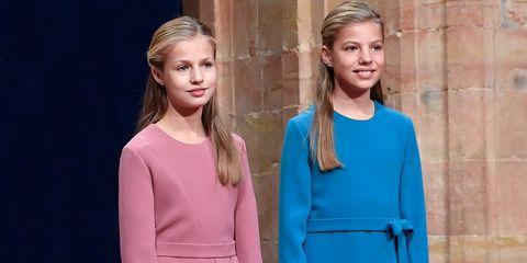 la princesa leonor y la infanta sofía reaparecen en la crisis del coronavirus