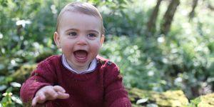 Príncipe Louis, fotos oficiales de su primer cumpleaños