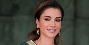 Rania deJordania con vestido de inspiración 'Juego de Tronos'