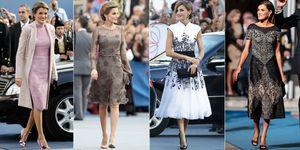 reina Letizia vestidos Premios Princesa de Asturias