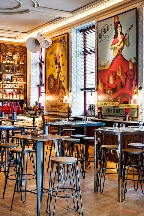 Los Restaurantes De Moda De La Zona Puerta De Alcalá En Madrid