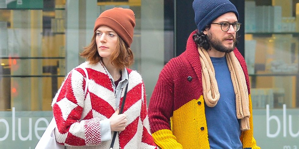 Kit Harington and Rose Leslie, Gryffindors, Go Shopping