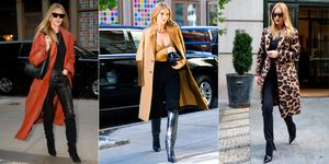 Rosie Huntington-Whiteley abrigos tendencia