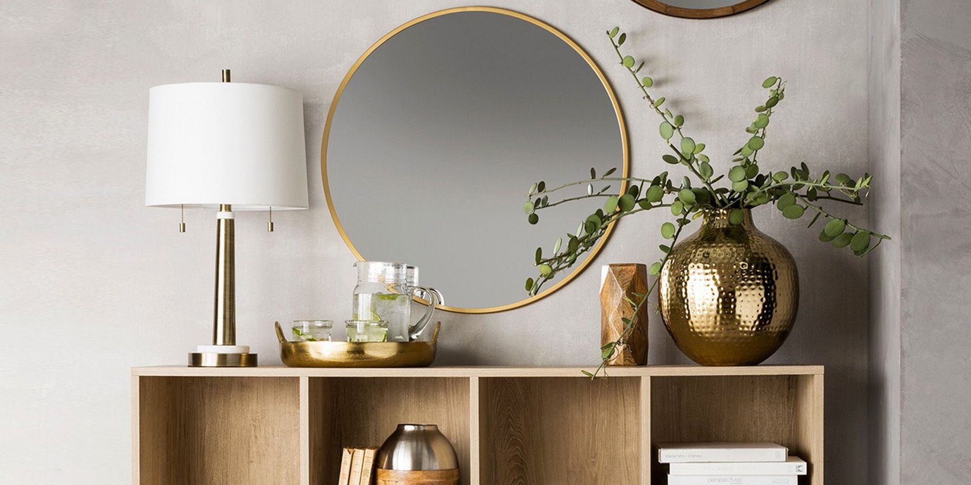 Cheap Round Wall Mirror Review Round Mirrors They Re So Hot Right Now