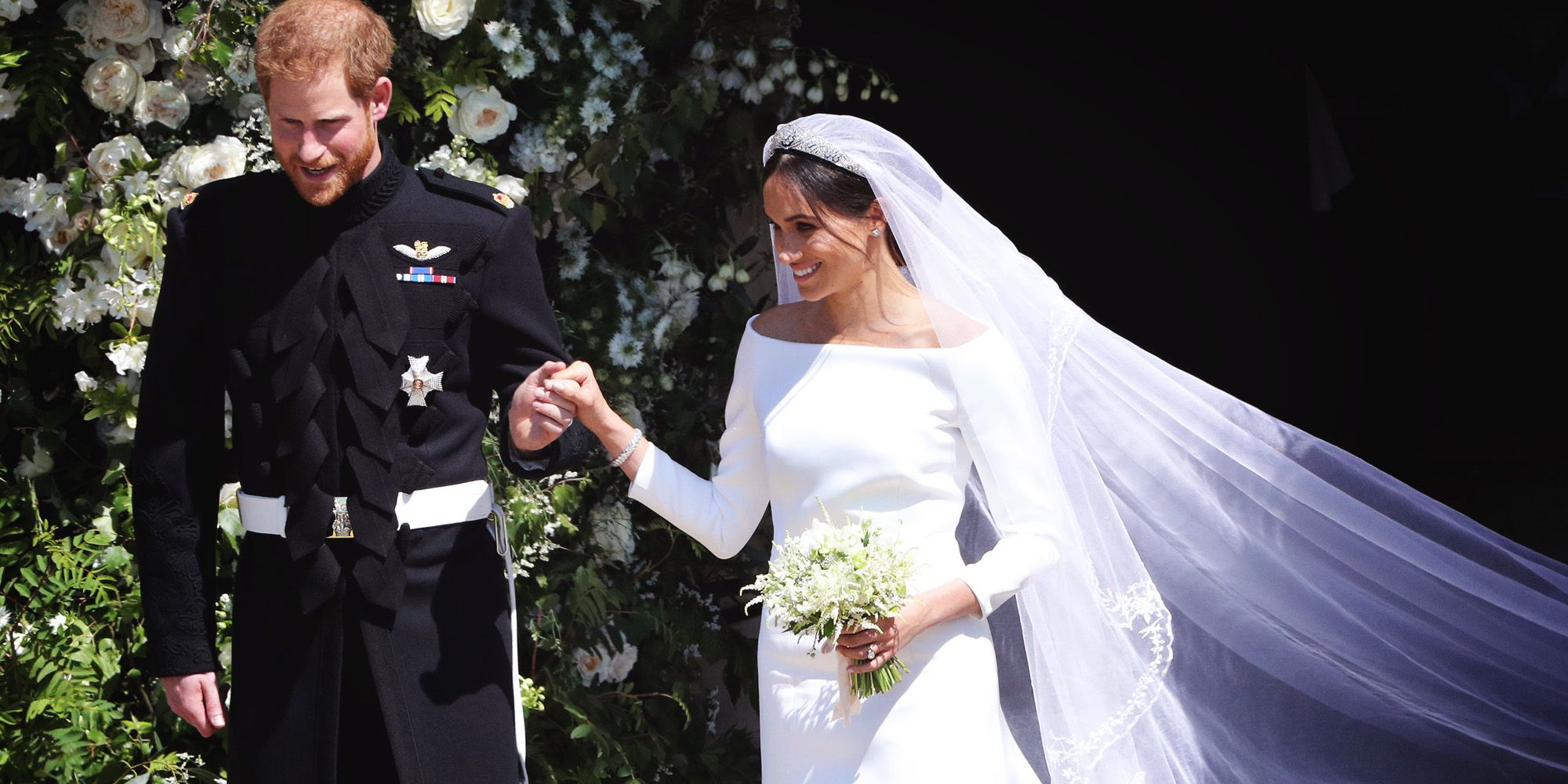 Meghan markles givenchy royal wedding dress details what to know meghan markles givenchy royal wedding dress details what to know about royal wedding gown junglespirit Images
