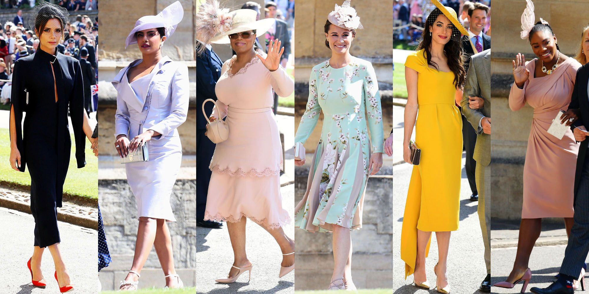 all royal wedding best dressed guests prince harry and meghan markle wedding guest outfits all royal wedding best dressed guests