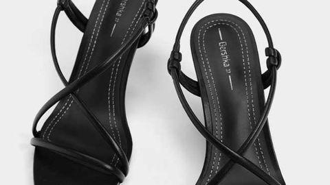 3f8f47117 Ojo que estas sandalias negras finas de Bershka de 20 € harán tus ...