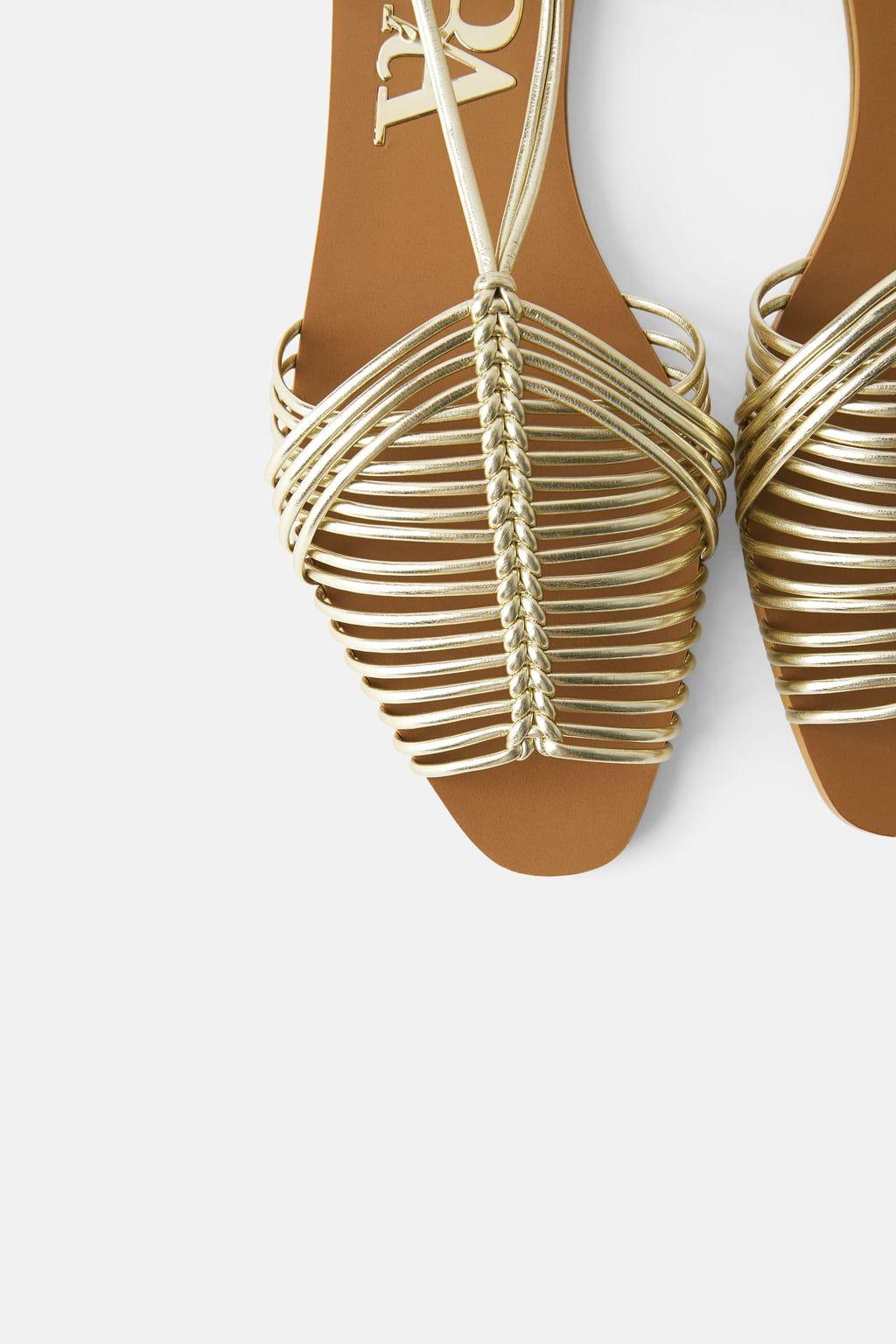 Más Cangrejeras Diseño Sandalias Vendido Recupera De Su Zara nPwOvNym80