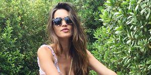 Sara Carbonero Mango Outlet look Instagram rebajas