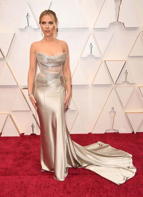 Scarlett JohanssonPremios Oscar 2020. Foto: Getty Images