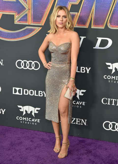 Scarlett JohanssonVengadores: Endgame estreno alfombra roja