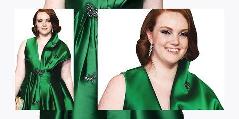 Shannon Purser Emmy's Dress