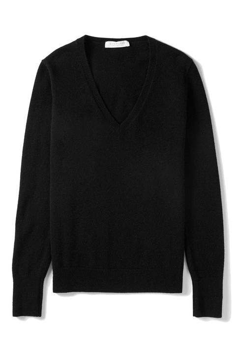 Clothing, Black, Sleeve, Sweater, Outerwear, Long-sleeved t-shirt, Top, Neck, Jersey, T-shirt,