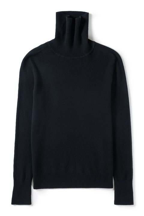 Clothing, Black, Sleeve, Outerwear, Neck, Sweater, Jersey, Top, Blouse, T-shirt,