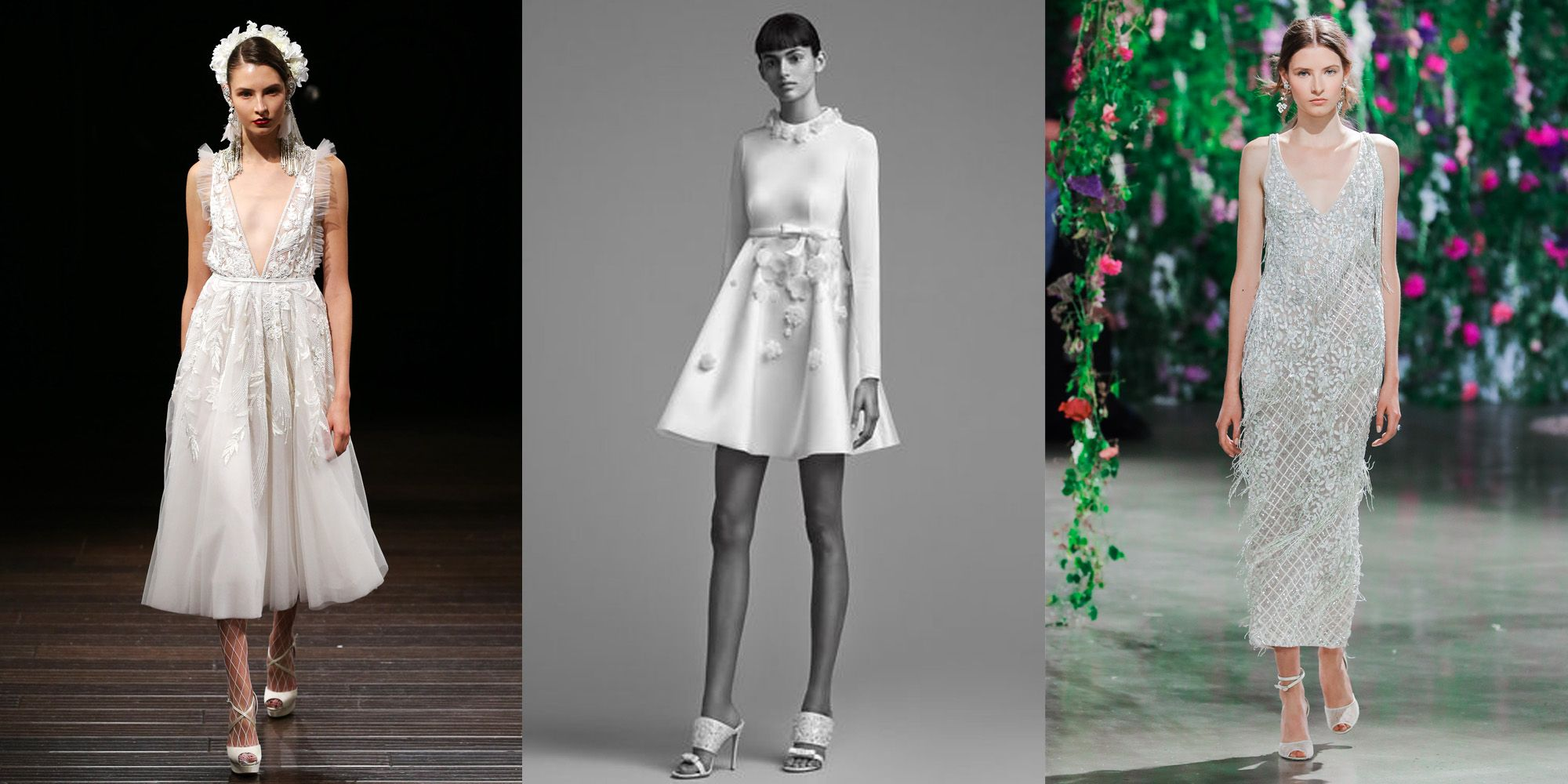 Short Wedding Dresses 2018 Fashion