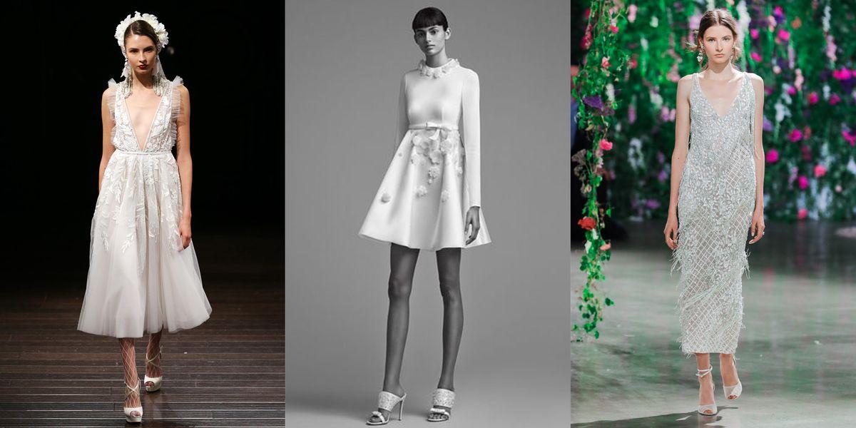 15 short wedding dresses for summer 13 designer short for Amazon designer wedding dresses