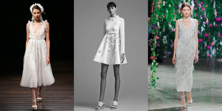 15 Short Wedding Dresses for Summer - 13 Designer Short and Midi ...