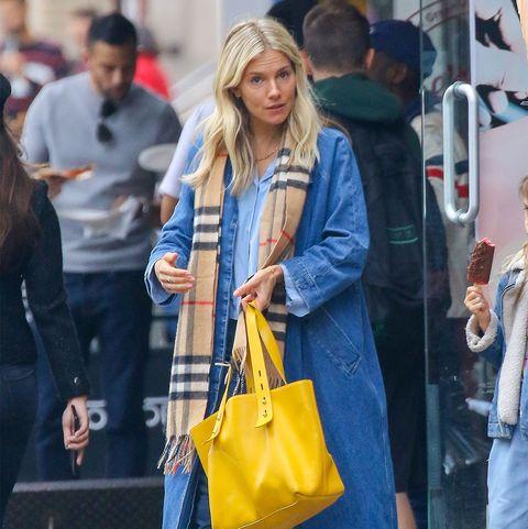 Street fashion, Clothing, Yellow, Jeans, Fashion, Snapshot, Denim, Shopping, Footwear, Outerwear,