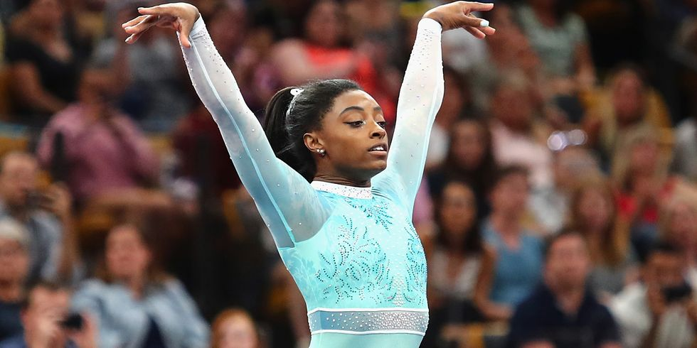 Simone Biles Is Officially the First Woman to Win Five U.S. All-Around Titles