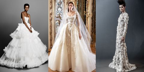 5c8e1b17bb57 The Best Looks From Spring Bridal Week 2019