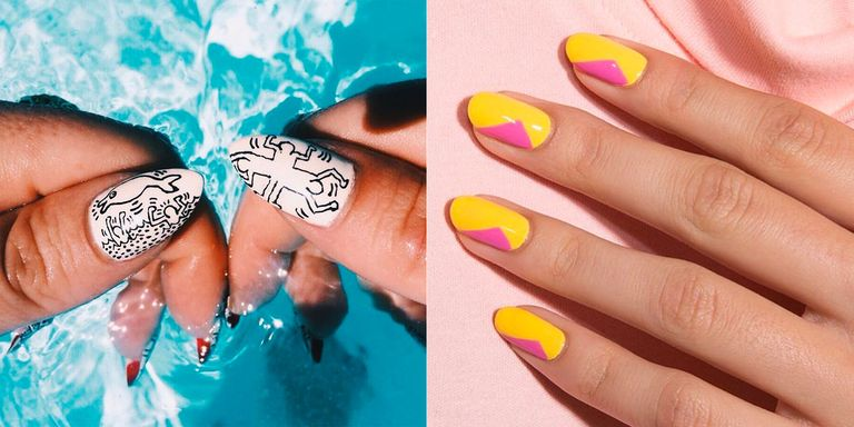 11 Spring Nail Art Designs - Nail Art Ideas for Spring 2018 Manicures
