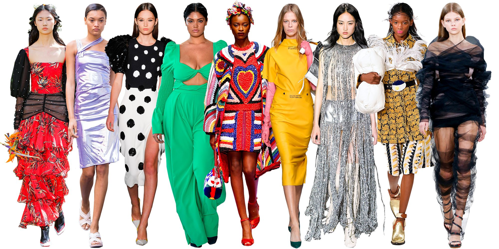 Elle S Complete Guide To Spring 2018 Trends