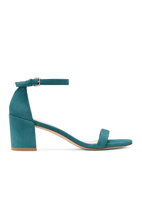 Footwear, Turquoise, Sandal, Teal, Turquoise, Slingback, Shoe, Electric blue, Fashion accessory, Strap,