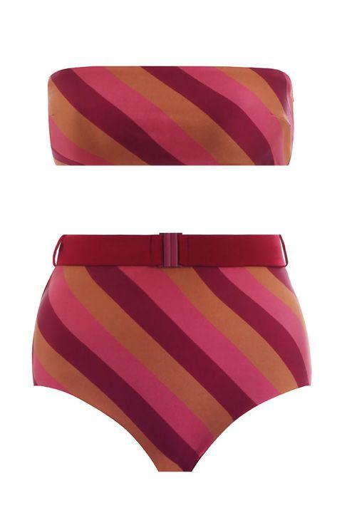Briefs, Clothing, Swimwear, Pink, Swimsuit bottom, Bikini, Swim brief, Magenta, Undergarment, Lingerie,