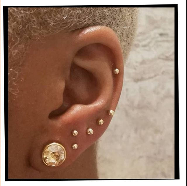 Ear Piercings Multiple Ear Piercings Inspiration For Curating