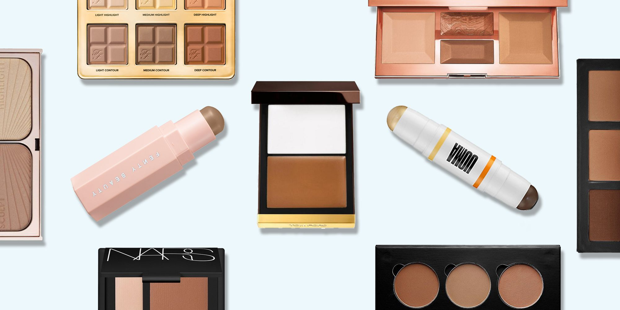 13 Of The Best Contour Kits For Sky High Cheekbones