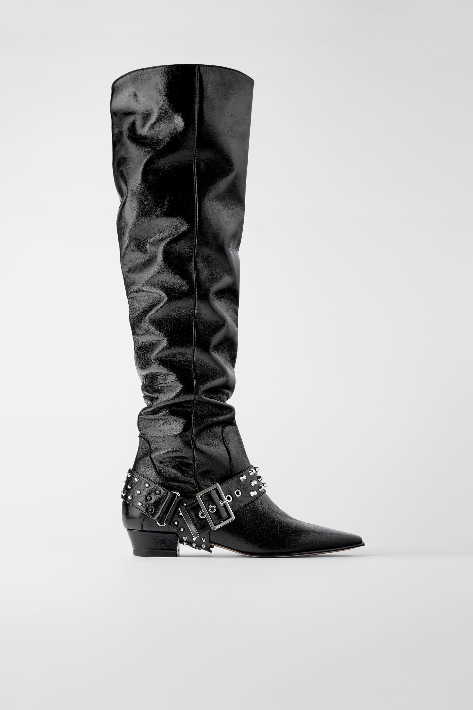 Las modelos ya visten las botas que van a arrasar este invierno