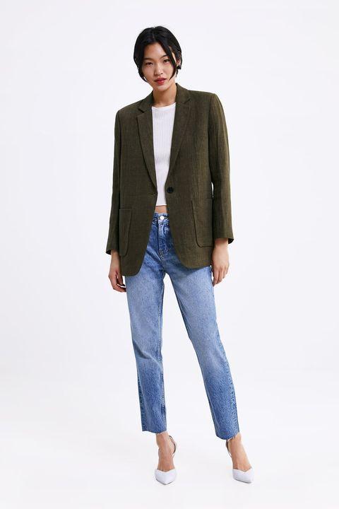 Americanas oversize Zara de rebajas