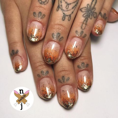 15 Best Thanksgiving Nail Art Designs For 2017 Thanksgiving