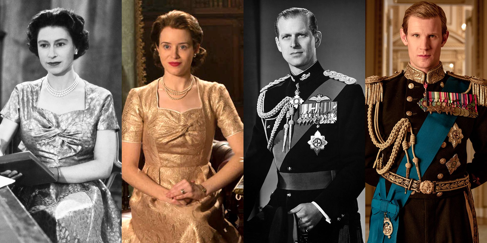 See the Cast of The Crown vs  the People They Play in Real Life