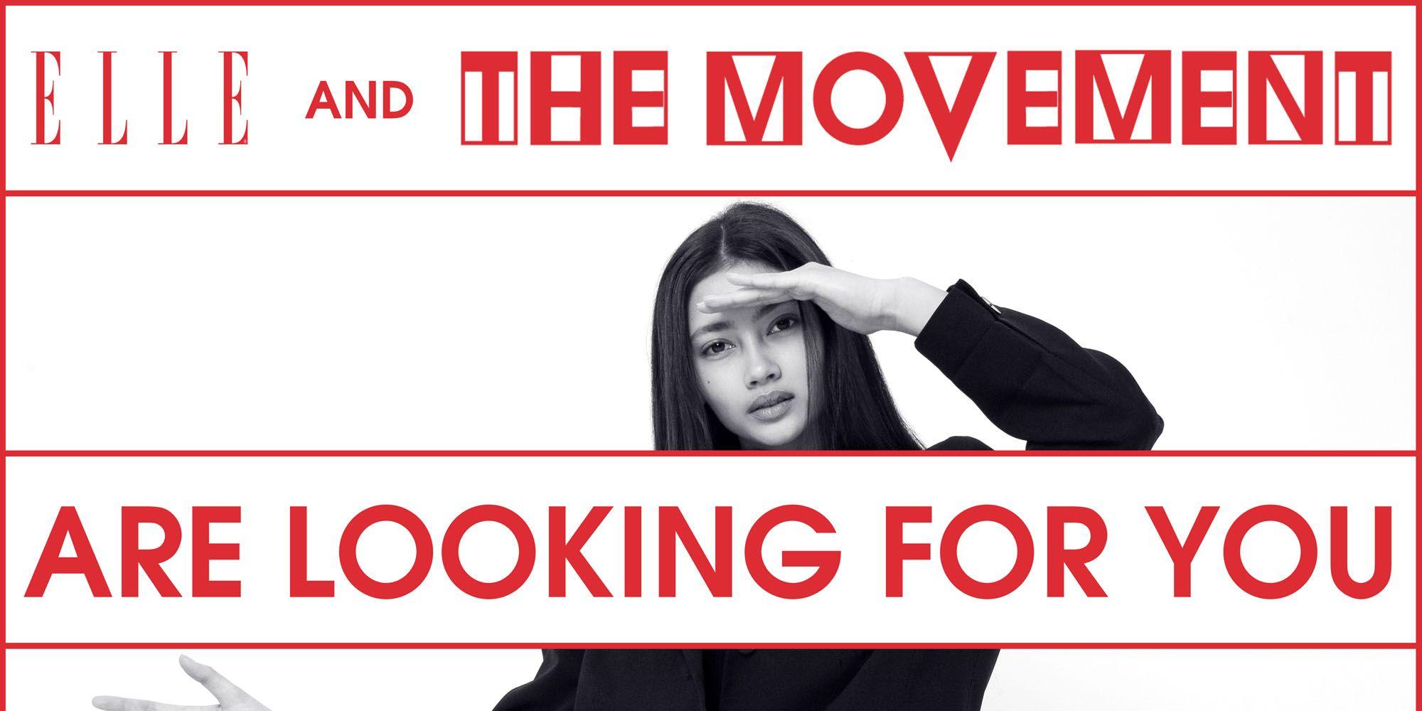ELLE X The Movement Models pop-up casting 2019