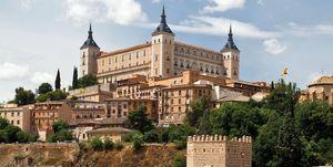 El Alcázar de Toledo y el Puente de Alcántara