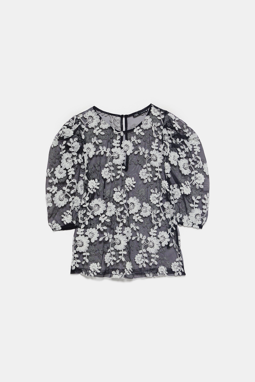 Camiseta Tul Estrellas Zara Agotada Chicfy