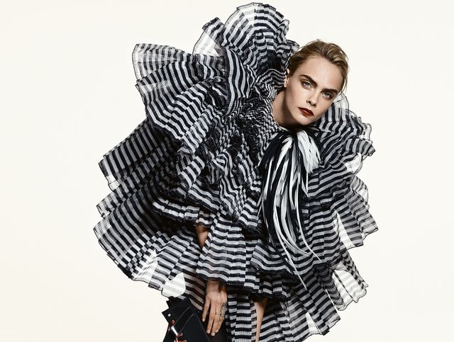 Cara Delevingne Elle Uk Cover Interview With Derek Blasberg