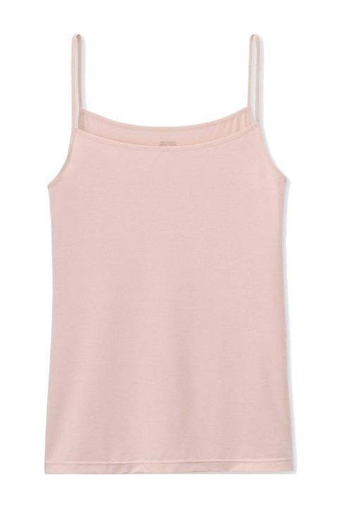 Clothing, Pink, White, camisoles, Sleeveless shirt, Undergarment, Neck, Blouse, T-shirt, Outerwear,