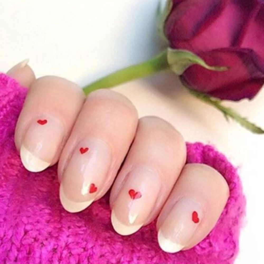 26 Easy Valentine S Day Nail Art Designs Cute Manicures We Love