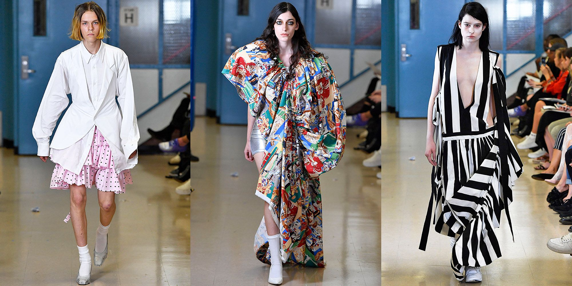 Everyone at Vaquera\'s School-Themed Show Would Have Gotten a Dress ...
