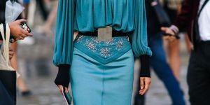 vestidos con cinturón