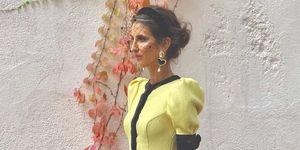 ines domecq vestido invitada de boda firma española coosy
