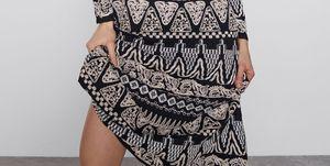 vestido largo bordado edición limitada elegante zara