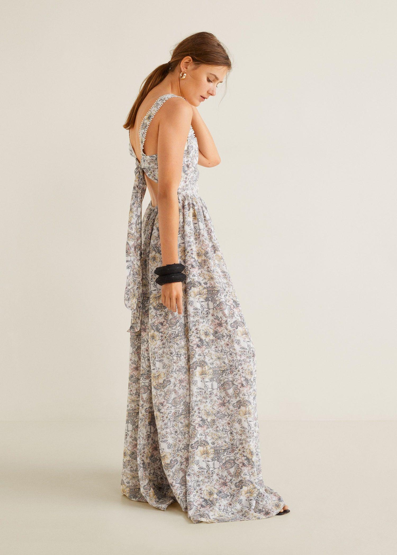 98438099c El vestido con espalda descubierta de Mango es la prenda del verano