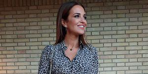 vestido largo leopardo paula echevarria mango outlet rebajas barato