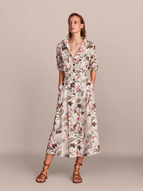 11 Vestidos Largos De Verano De Massimo Dutti Por Si Todavía