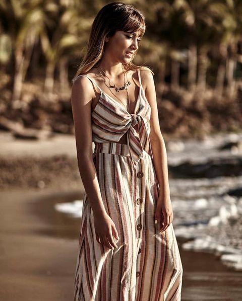 belleza última venta gran ajuste Los dos vestidos largos de Stradivarius que ha elegido la ...