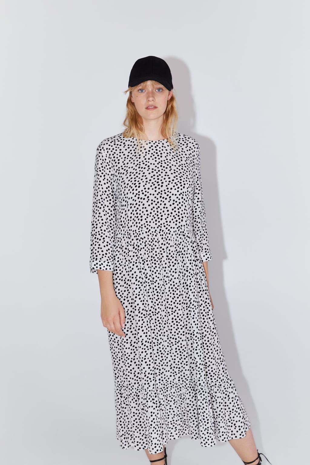 tan baratas descuento más bajo predominante Este vestido de lunares de Zara ya tiene una cuenta de Instagram